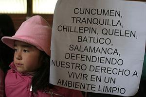 Autoridades ordenaron reprimir protesta por contaminación minera