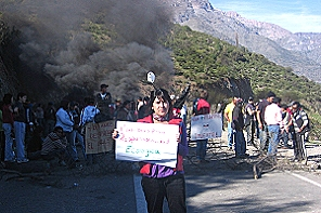 Compromisos de la empresa hacen finalizan protestas contra Minera Los Pelambres