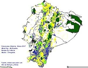 Ecuador creará una empresa estatal de minería
