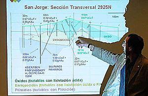 Minera San Jorge jura que su proyecto minero no es contaminante