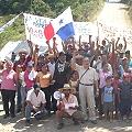 Cierre indefinido de vía a mina Petaquilla