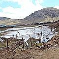 Desborde de relaves mineros contamina dos ríos