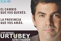 afiche de la campaña electoral