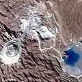 Imágen satelital de Mina La Alumbrera