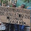 Vecinos denunciados por los mineros