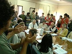 Votación en el Consejo Superior de la UNRC