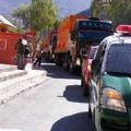 Explosivos por los caminos y poblados del valle del Huasco
