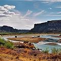 La mega minería comprometería al Río Chubut