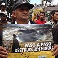 Ocupación territorial y agresión minera
