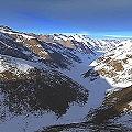 Glaciar en la alta Cordillera