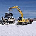 Perforando por litio en Salar de Olaroz