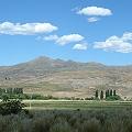 Cerro Tres Puntas en Campana Mahuida