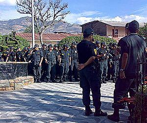 Formación policial en Huancabamba