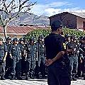 Minera pagó a policía para retener movilización