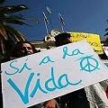 Sí a la Vida el día de la primavera en Plaza de Mayo