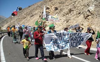 Marcha pastoral en Alto del Carmen