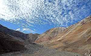 Pascua Lama visto desde Chile