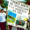 Protestas en la Corte por proyecto minero