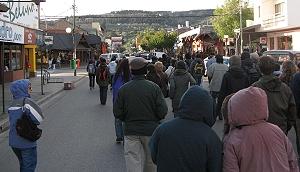 Marcha en Esquel 04-nov-09