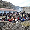 Comuneros rechazan servidumbres mineras de Minsur S.A.