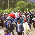 Conflicto minero con masacre policial
