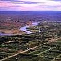 Río Negro y chacras agrícolas