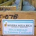 Agua Rica explicada por el secretario de minería
