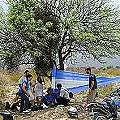 Corte a Minera Agua Rica por asamblea El Algarrobo
