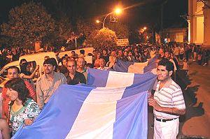 Contra la megaminería: miles en las calles de Andalgalá