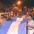 Contra la megaminaría: Miles de andalalenses en las calles