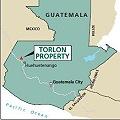 Ubicación del proyecto minero Torlon