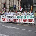 2.000 personas en rechazo a la mina de Borobia