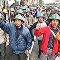 Huelga en mayor productora oro de Perú
