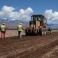 Trabajos para la pavimentación de la ruta nacional 149