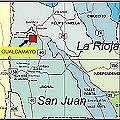 Río Gualcamayo y una rana amenazados por la minería