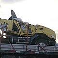 Camión del saqueo aparece en noticias policiales