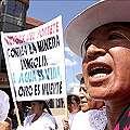 Movilización por el agua y contra minería