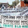 Por una ley contra la minería metálica