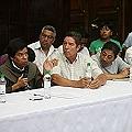 Salvadoreños y guatemaltecos exigen paralizar proyecto minero
