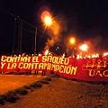 Marcha de antorchas: cientos de asambleístas y vecinos de Esquel