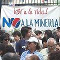 Fallo judicial lleva a marcha contra mina de oro