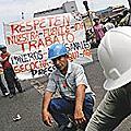 Seis muertos en choques entre mineros y policías