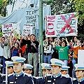 Contra Agua Rica en las narices del gobernador