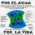 25 de Mayo: Festival en Traslasierra por la vida y el agua pura