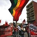 Marcha del 1º de Mayo incluyó rechazo a la minería