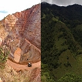 Gran minería del oro y el platino en Colombia y las compañías trasnacionales