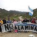 Vecinos controlan el tráfico minero en Chilecito