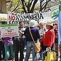 Gran marcha contra la política minera