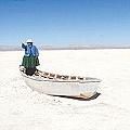 El lago Poopó se seca por culpa de la minería