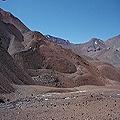 Ambiente periglaciar en la alta Cordillera de los Andes